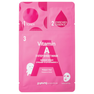JJ YOUNG Vitamin A Sheet Mask