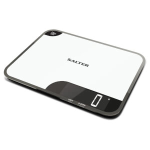 Salter Max Chopping Board Digital Kitchen Scale - White