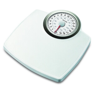 Salter Classic Mechanical Bathroom Scale - White