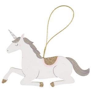 Sass & Belle Seated Princess Unicorn Hanging Decoration