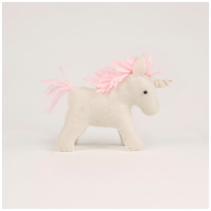 Sass & Belle Magical Felt Unicorn Decoration