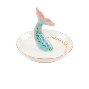 Sass & Belle Mermaid Tail Trinket Dish