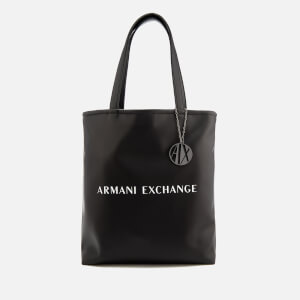 Armani Exchange Women's Reversible Love Potion Shopper Bag - Black/White