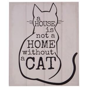 Cat Wall Plaque
