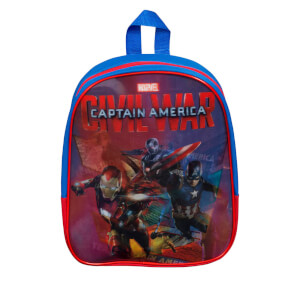 Marvel Captain America Lenticular Backpack - Blue