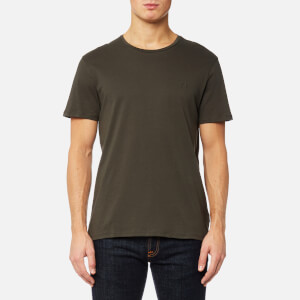 Calvin Klein Men's Jari Embossed T-Shirt - Black Ink