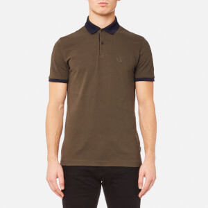 Calvin Klein Men's Jasto Pique Polo Shirt - Black Ink