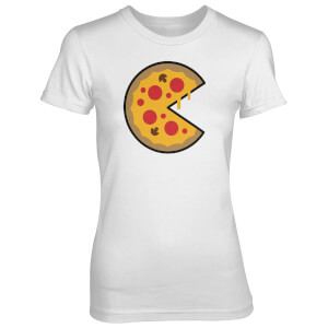 Bigger Pizza Piece Women's White T-Shirt