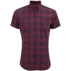 Jack & Jones Originals Fischer Short Sleeve Shirt - Cordovan