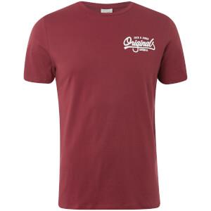 Jack & Jones Originals Men's Howdy T-Shirt - Cordovan