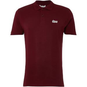 Jack & Jones Originals Men's Jet Jersey Polo Shirt - Cordovan