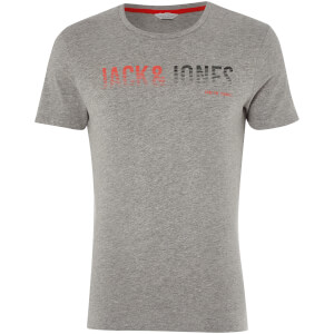 T-Shirt Homme Core Linn Jack & Jones - Gris Clair Chiné