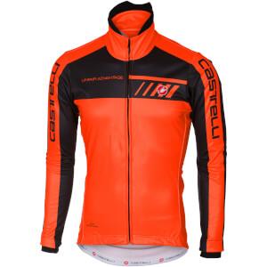 Castelli Velocissimo 2 Jacket - Orange/Black