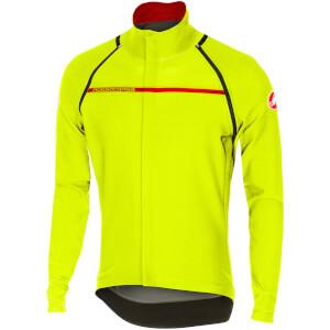 Castelli Perfetto Convertible Jacket - Yellow Fluo