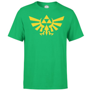 Nintendo Zelda Triforce Men's Green T-Shirt