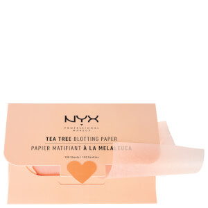 NYX Professional Makeup Tea Tree Blotting Paper