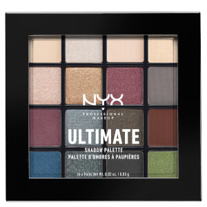 NYX Professional Makeup Ultimate Shadow Palette – Smokey and Highlight