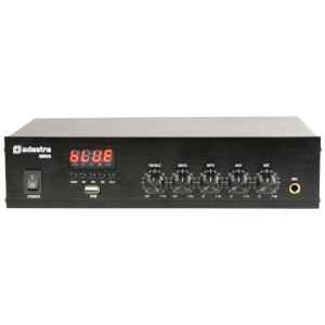 Adastra DM25 Digital 100V 25W Mixer Amplifier