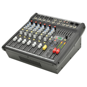 Citronic CSP408 Compact Powered Mixer with DSP (8 Channel) - Black