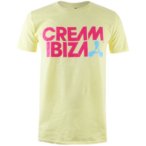 Ibiza Men's Cream Ibiza T-Shirt - Pale Yellow