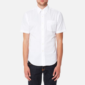 Polo Ralph Lauren Men's Seersucker Short Sleeve Sport Shirt - White