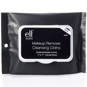 elf Cosmetics Makeup Remover Cleansing Cloths - 20 Cloths