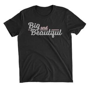 Big And Beautiful Women's Black T-Shirt