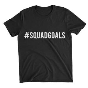 Squad Goals Women's Black T-Shirt