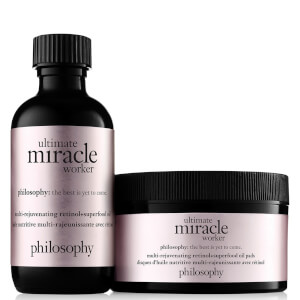 philosophy Ultimate Miracle Worker Multi-Rejuvenating Pure-Retinol Oil Pads