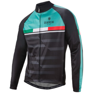 Bianchi Priora Jacket - Black/Celeste