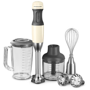 KitchenAid 5KHB2571BAC Corded Hand Blender - Almond Cream
