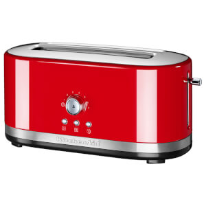 KitchenAid 5KMT4116BER Manual Control 4 Slice Toaster - Empire Red