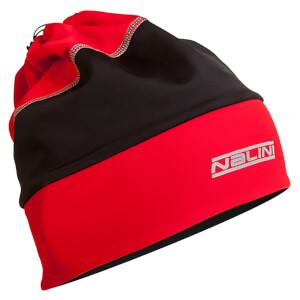 Nalini Warm Gaitor Cap - Red/Black