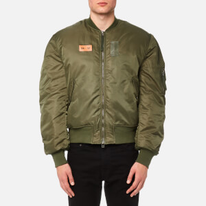 Maharishi Men's MA-1 Flight Jacket - Mil Olive