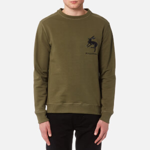 Maharishi Men's Hare Crew Sweatshirt - Maha Olive