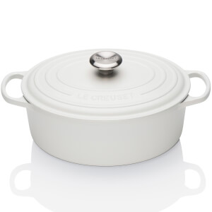 Le Creuset Signature Cast Iron Oval Casserole Dish - 23cm - Cotton