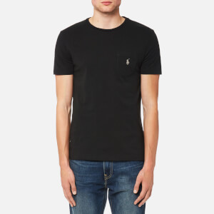 Polo Ralph Lauren Men's Crew Neck Pocket T-Shirt - Polo Black