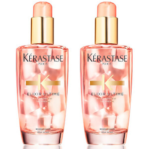 Kérastase Elixir Ultime Hair Oil for Coloured Hair (100ml) Duo