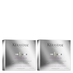 Dúo de tratamiento Kérastase Specifique Cure Anti-Pelliculaire Anti-Recidive Treatment 12 x 6 ml