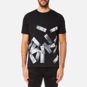 Versus Versace Men's Pin Print T-Shirt - Black/Stampa