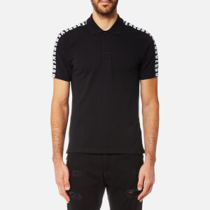 Versus Versace Men's Short Sleeve Polo Shirt - Black