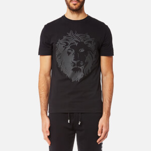 Versus Versace Men's Printed Versace Short Sleeve T-Shirt - Black/Stampa