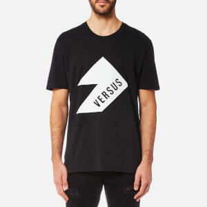 Versus Versace Men's Versus Logo Short Sleeve T-Shirt - Black