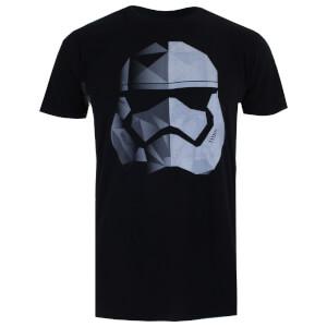 Star Wars Men's The Last Jedi Geo Trooper T-Shirt - Black