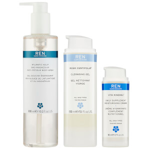 REN Cleanse & Nourish Trio (Worth £57.00)
