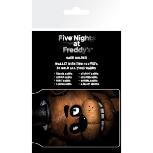 Five Nights at Freddy's Fazbear Card Holder