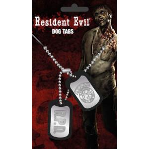 Resident Evil Stars Dog Tag Pendant