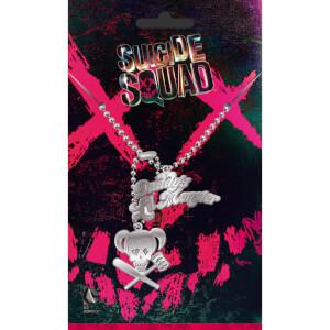 Suicide Squad Harley Dog Tag Pendant