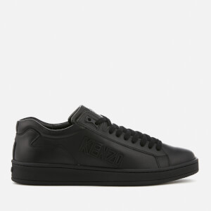 KENZO Men's Tennix Low Top Trainers - Black