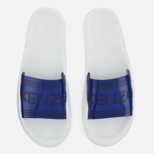 KENZO Men's Pool Slide Sandals - French Blue